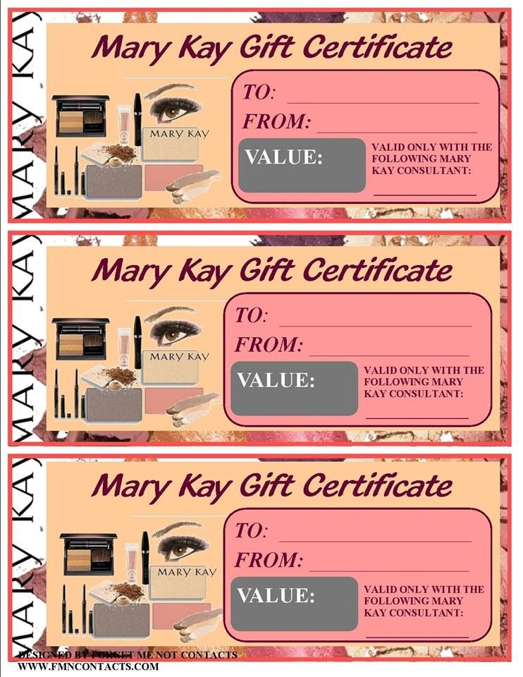 Coupons gift cards or certificates