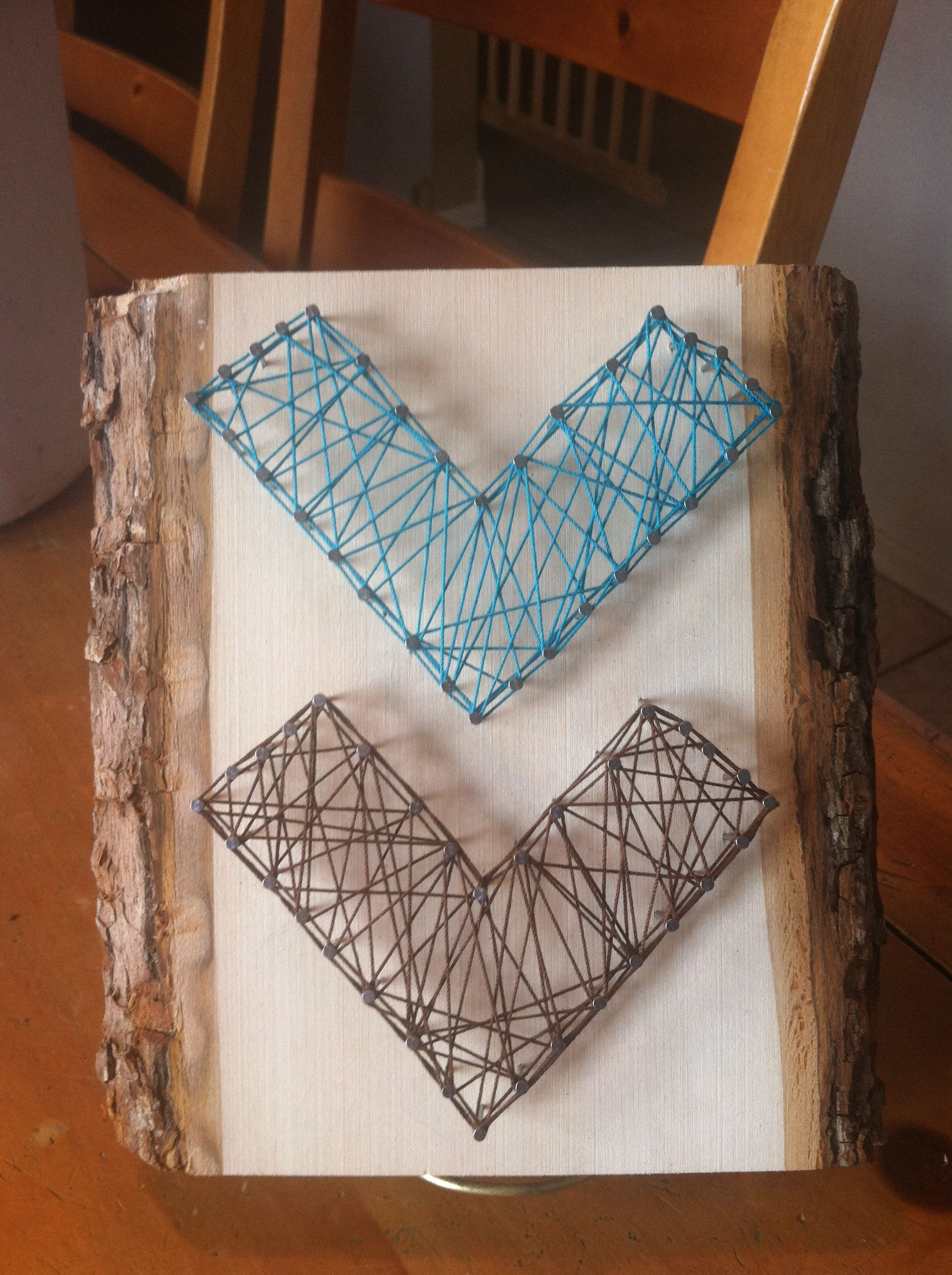 7 photos and inspiration nail string art diy tierra este for Diy nail and string art