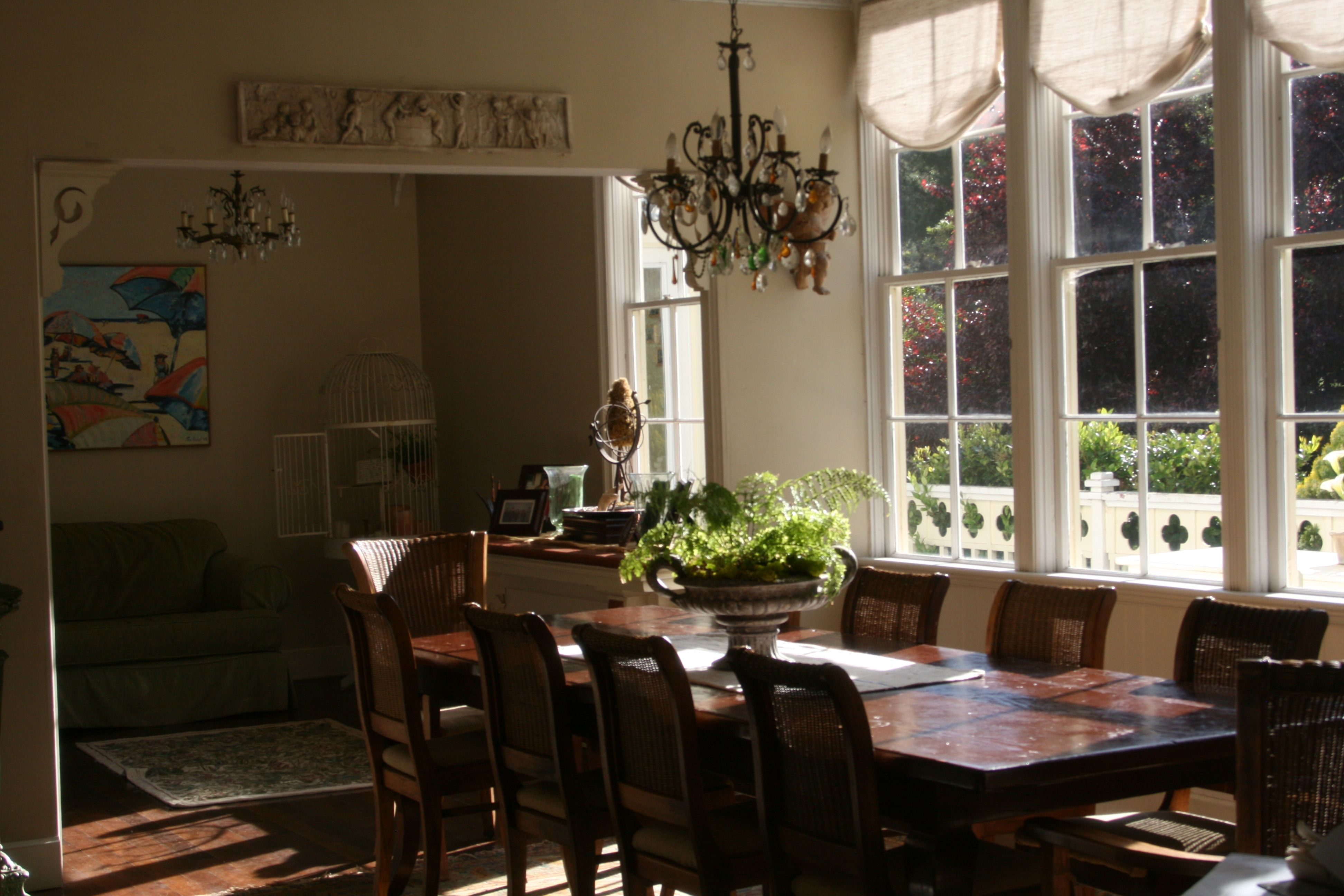 Elegant Farmhouse Dining Room Dining Rooms