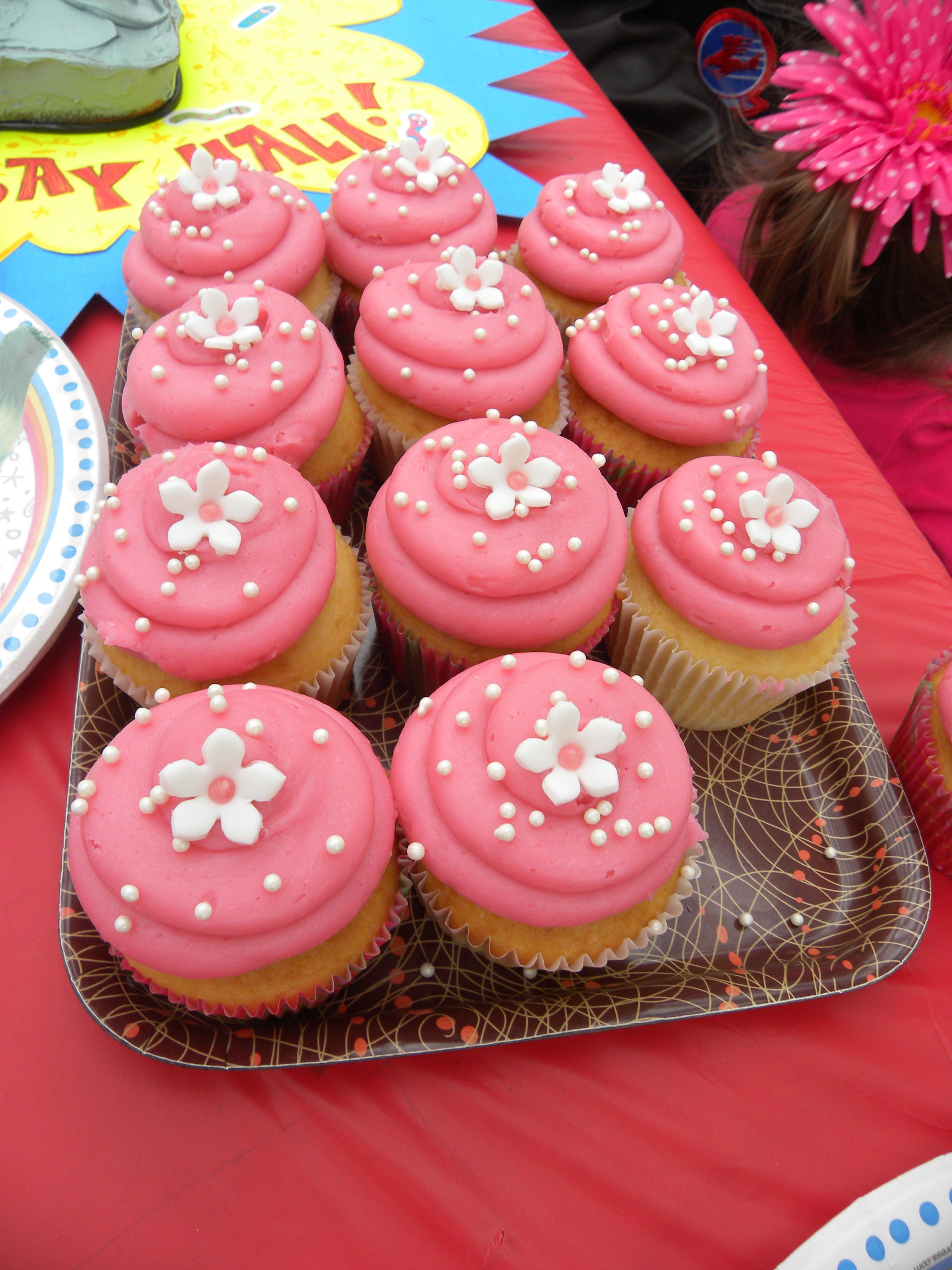cute girly cupcakes ideas