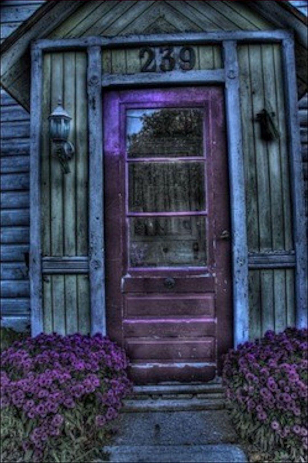 Purple Door Lovely Purple Pinterest