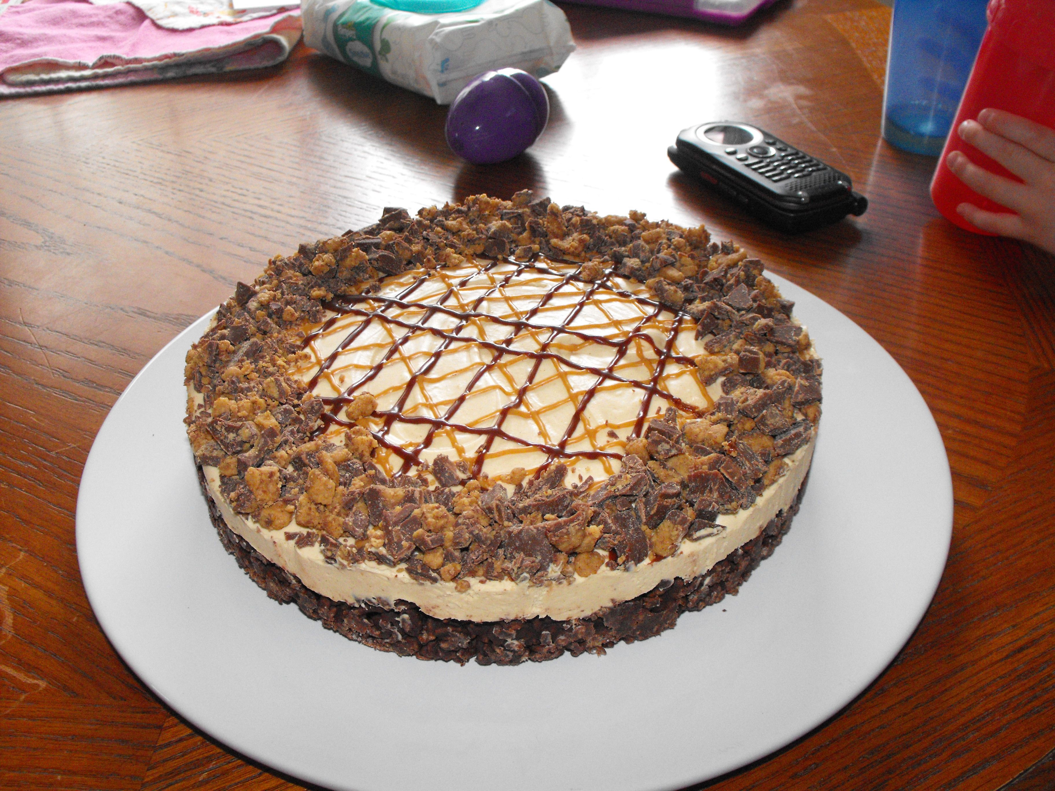 Frozen Peanut Butter Cheesecake! Yummy! | Cakes /themes | Pinterest