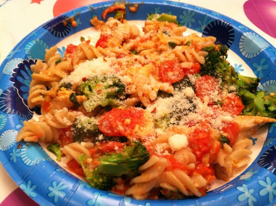 Chicken Sausage, Broccoli And Parmesan Brown Rice Dinner Recipes ...
