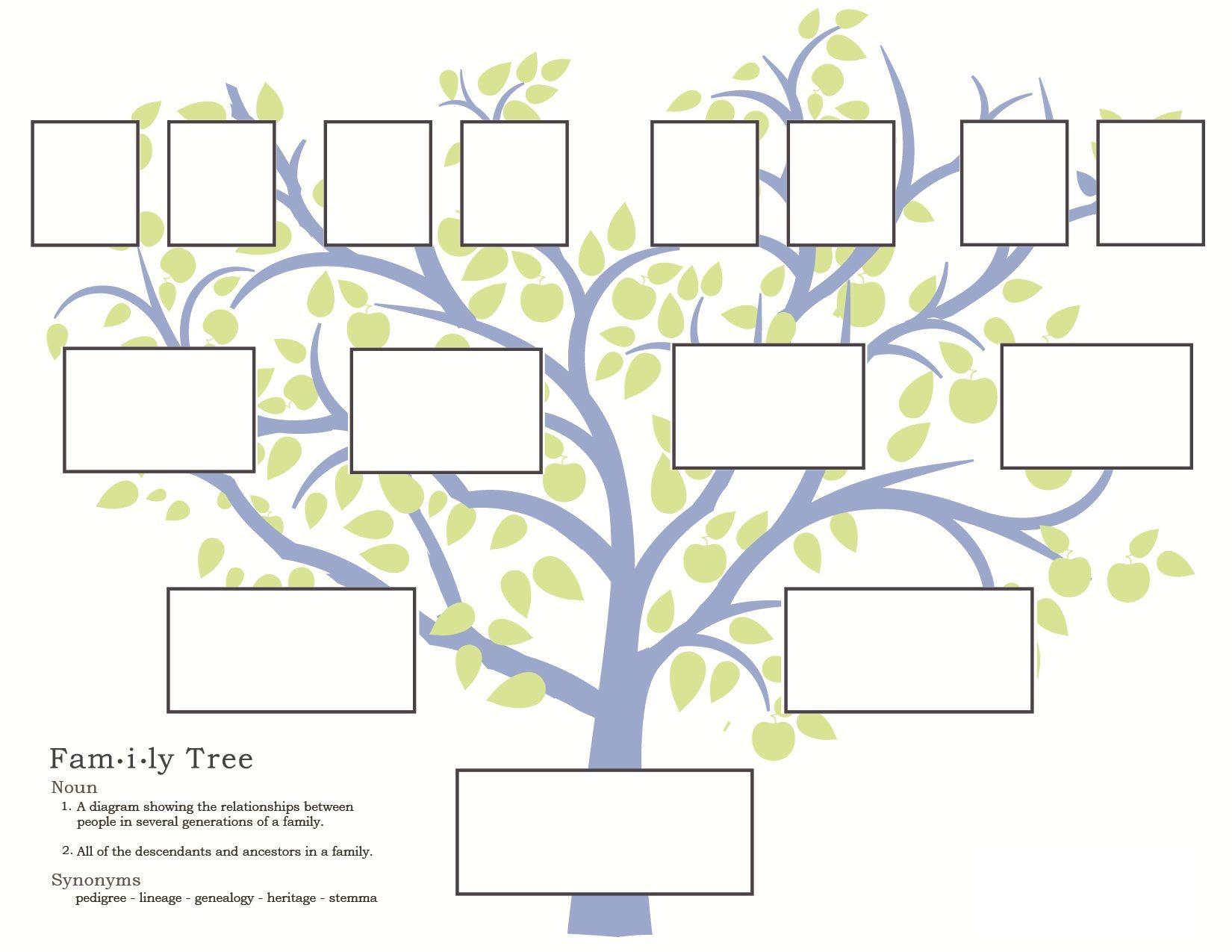 Как сделать семейное древо