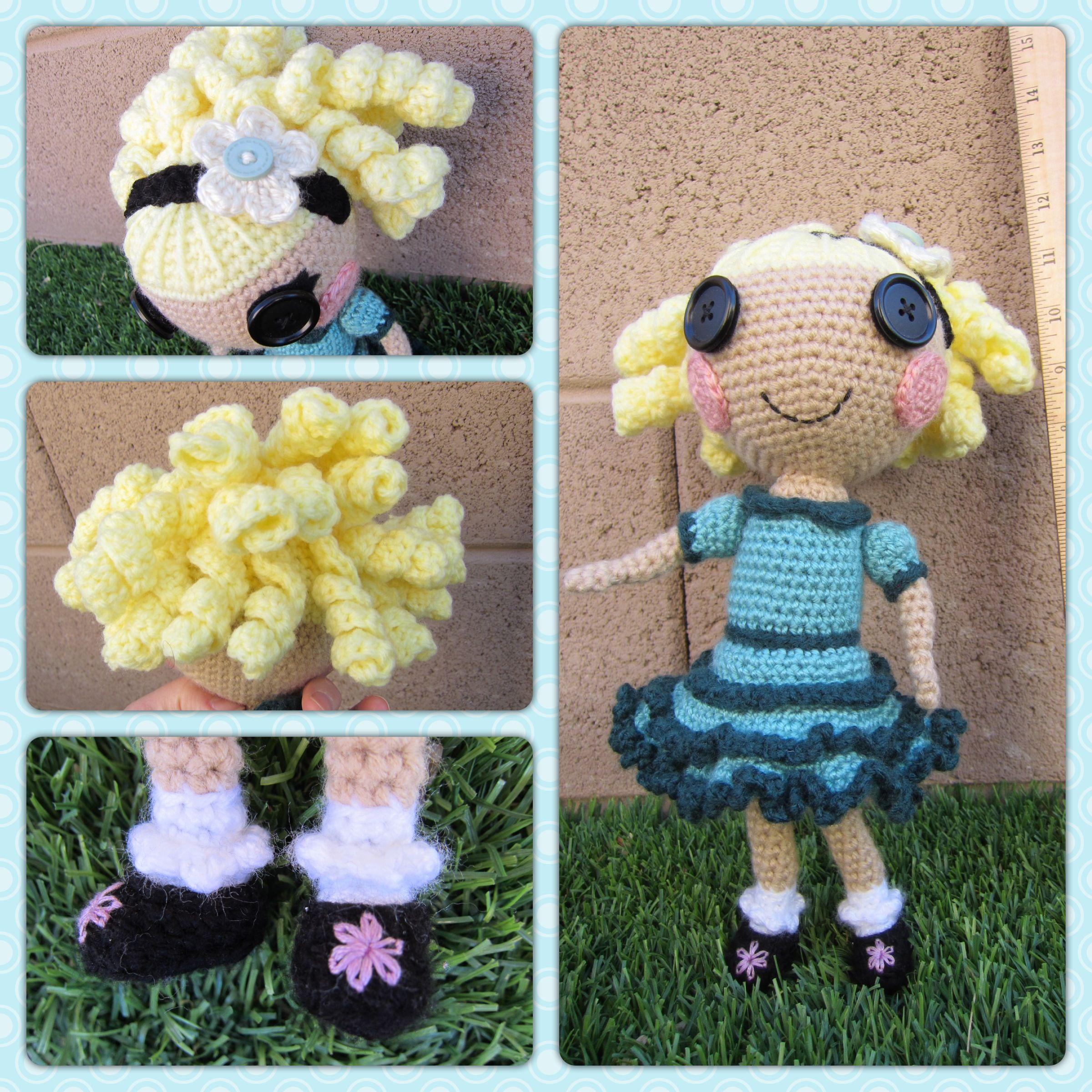 Amigurumi Doll Lalaloopsy : Lalaloopsy amigurumi doll Crochet- My Amigurumis Pinterest