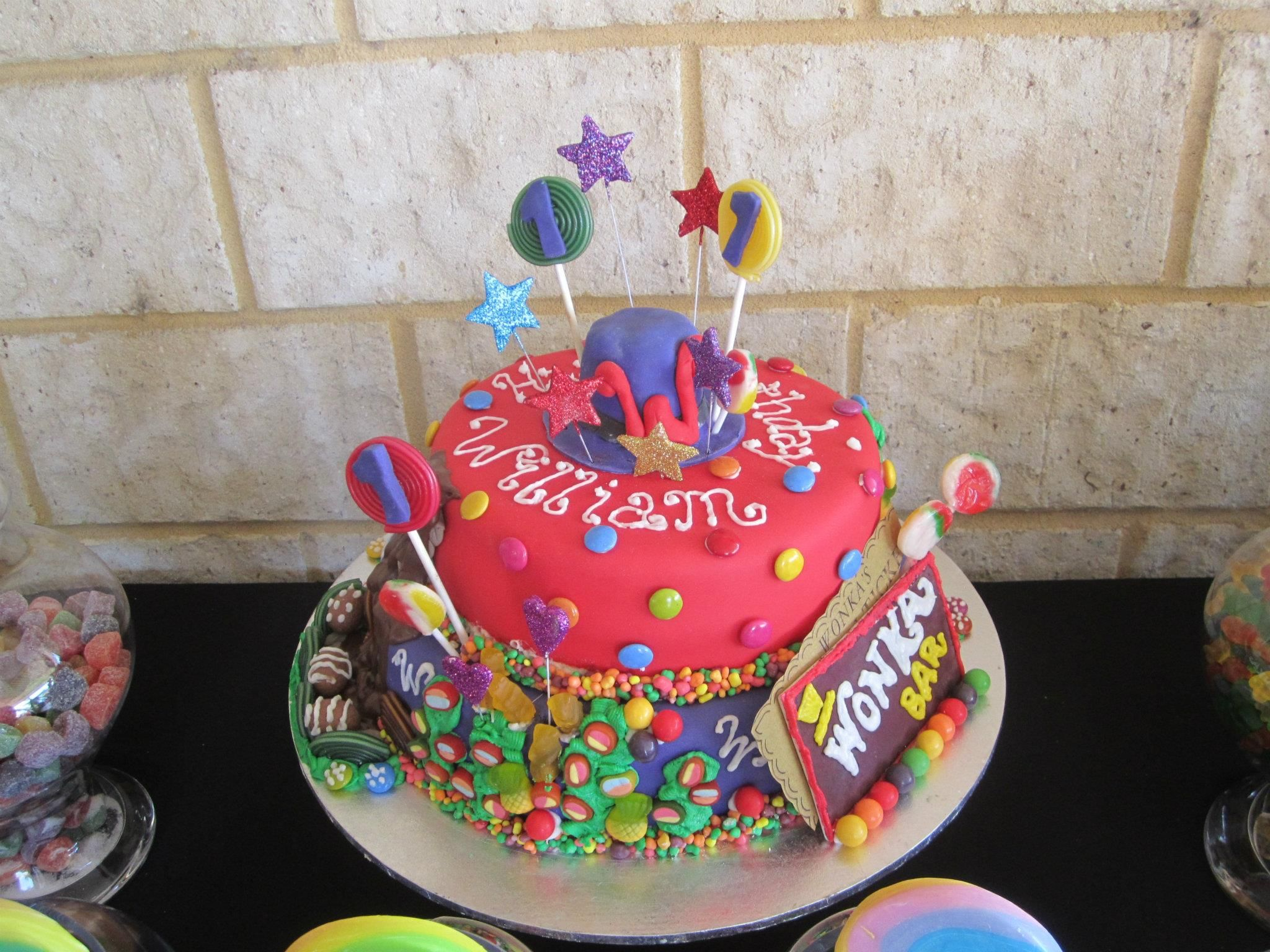 Candy Theme Cake Decorating Ideas Pinterest