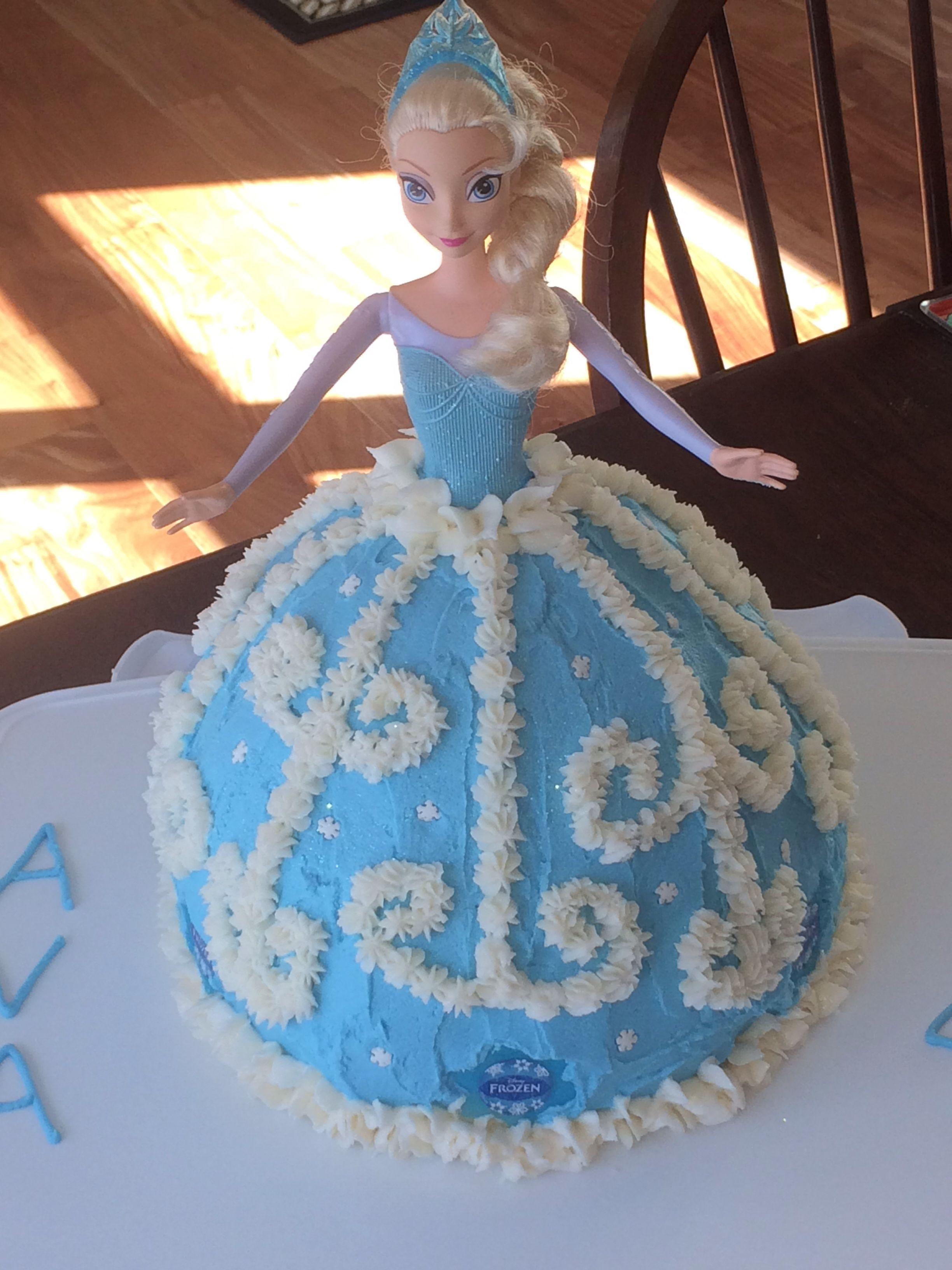 Elsa Frozen Disney Cake Ideas