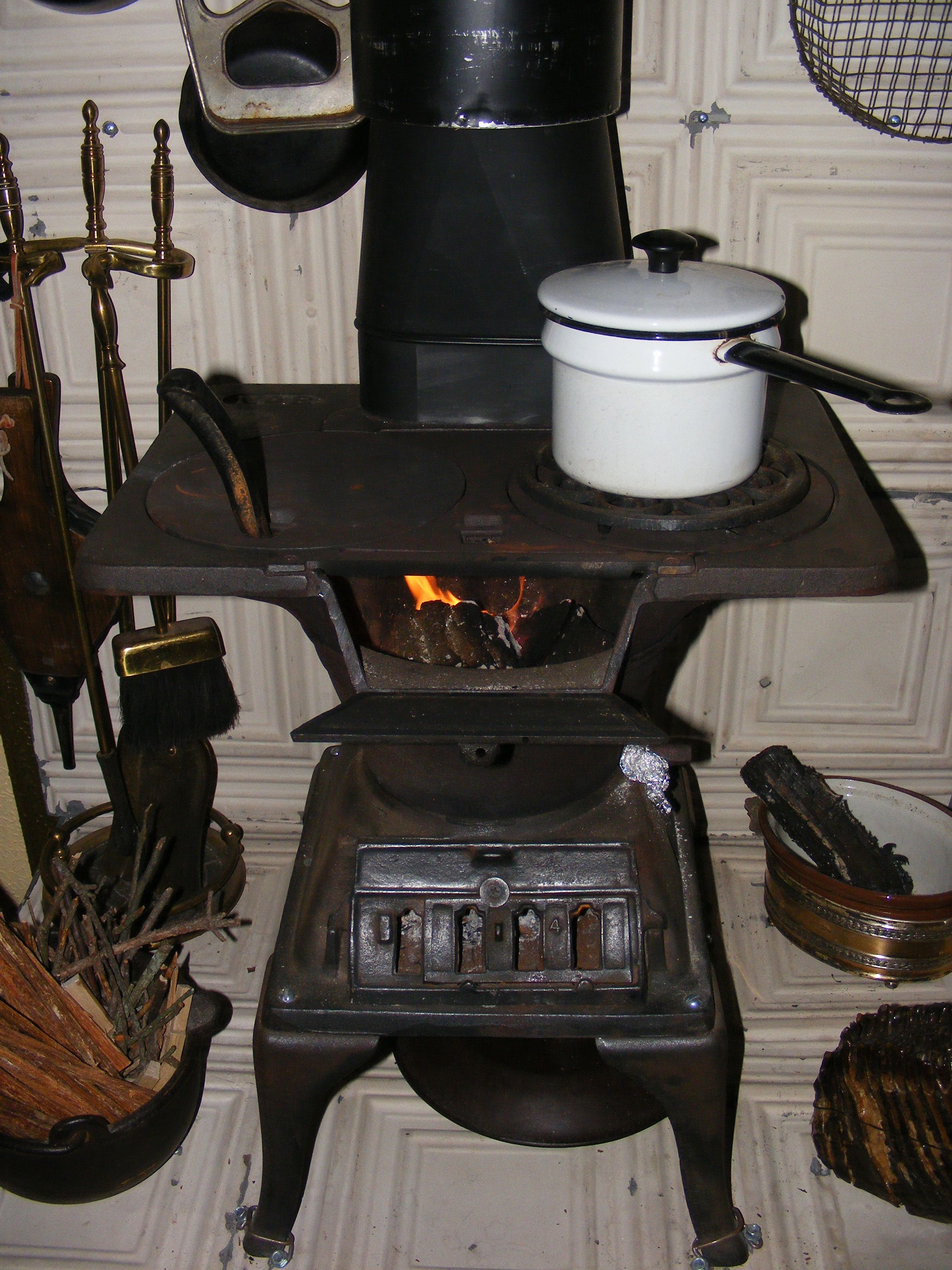 Vintage Wood Fired Stoves Exclusively