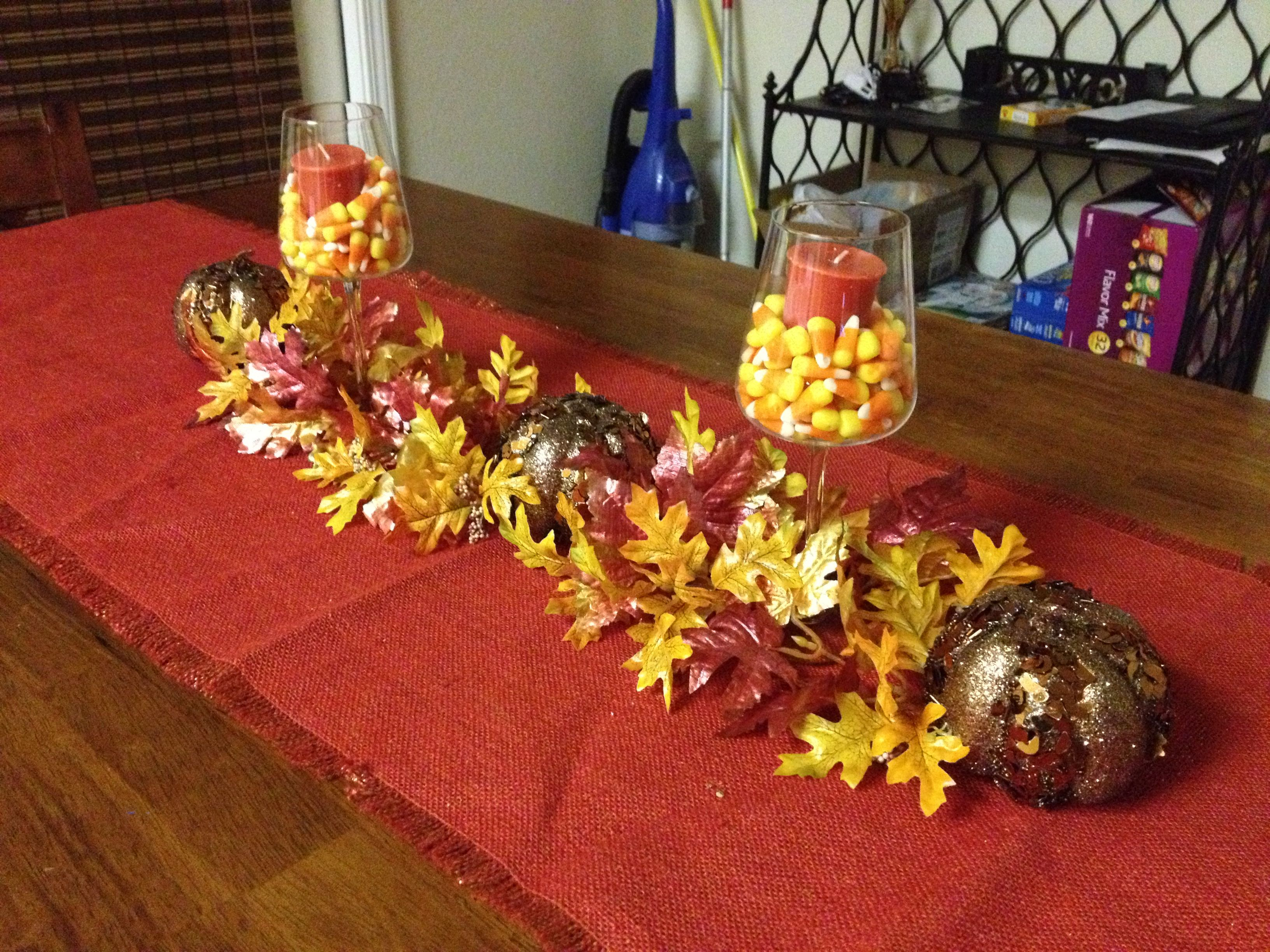Fall Table Decorations Holiday Pinterest