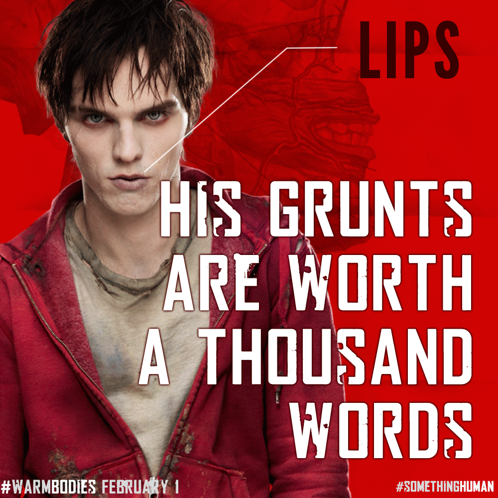Warm Bodies Quotes Warm Bodies R Quotes. ...