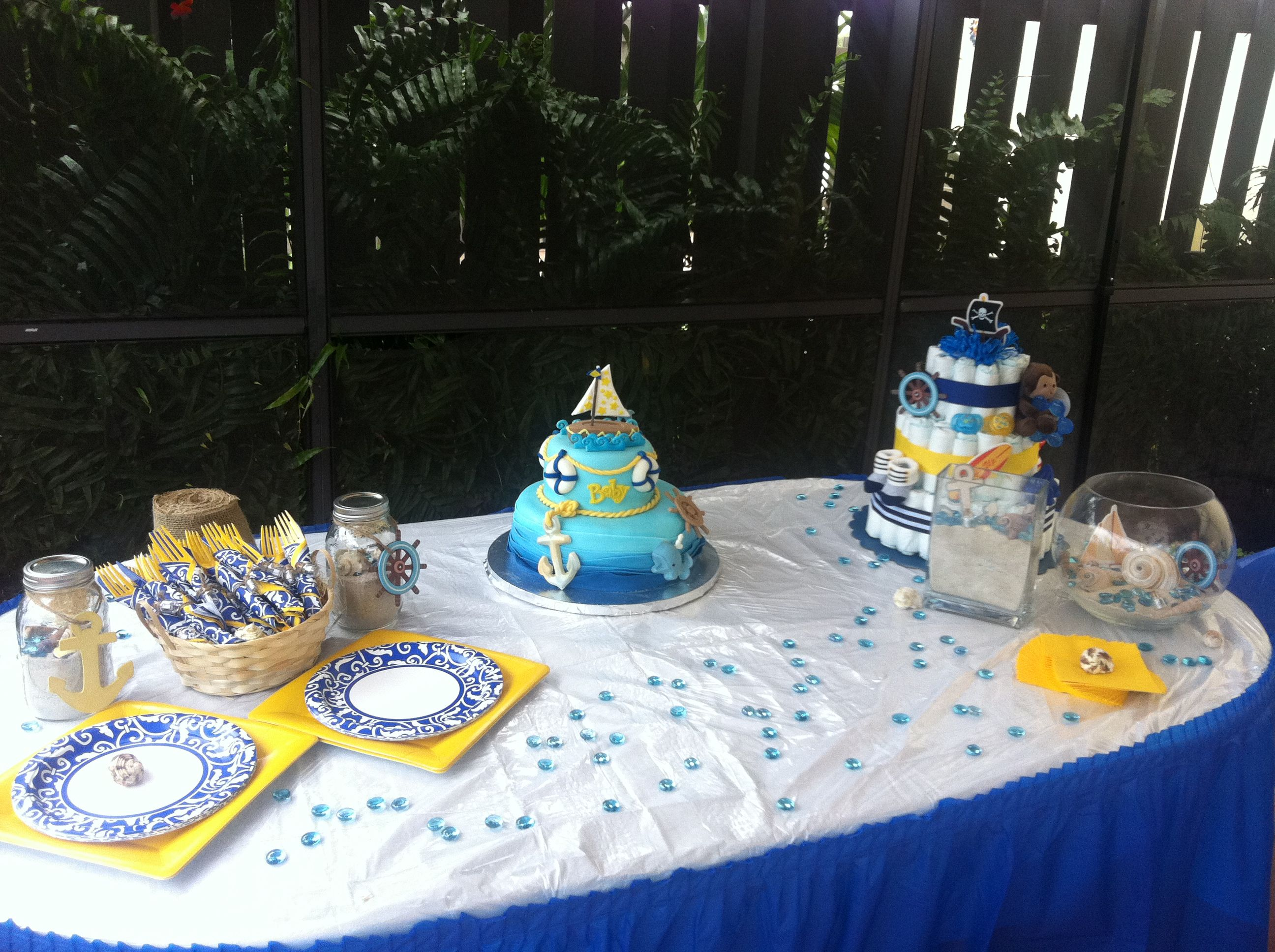 nautical baby shower theme baby shower ideas pinterest