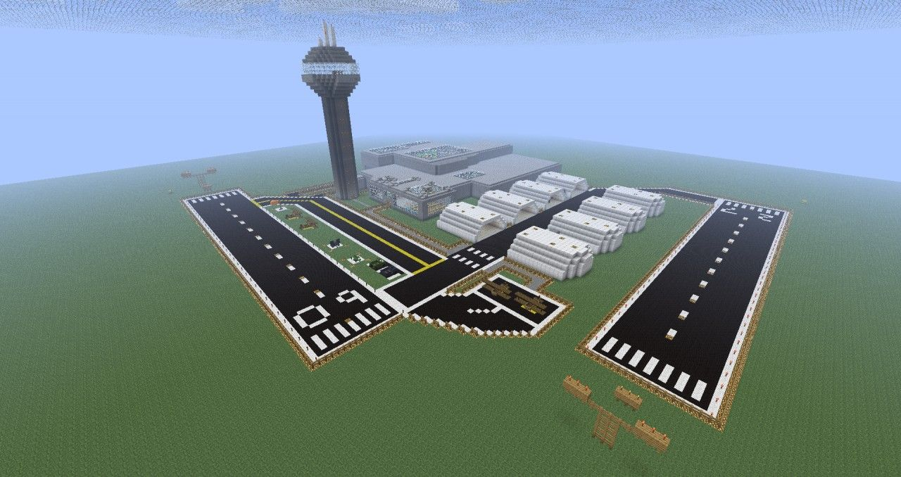 Related Keywords & Suggestions for Minecraft Airfield