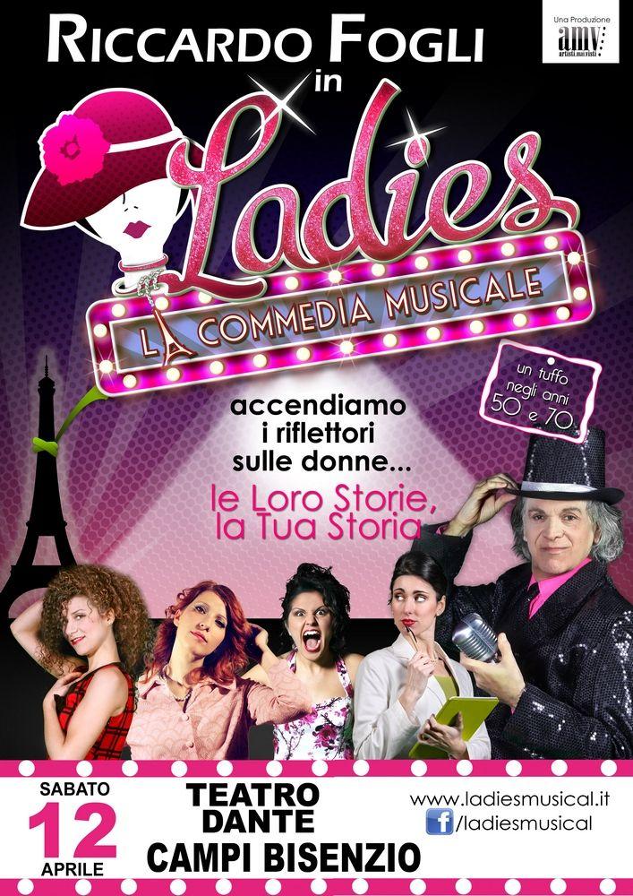 Ladies la commedia musicale con Riccardo Fogli a Campi Bisenzio