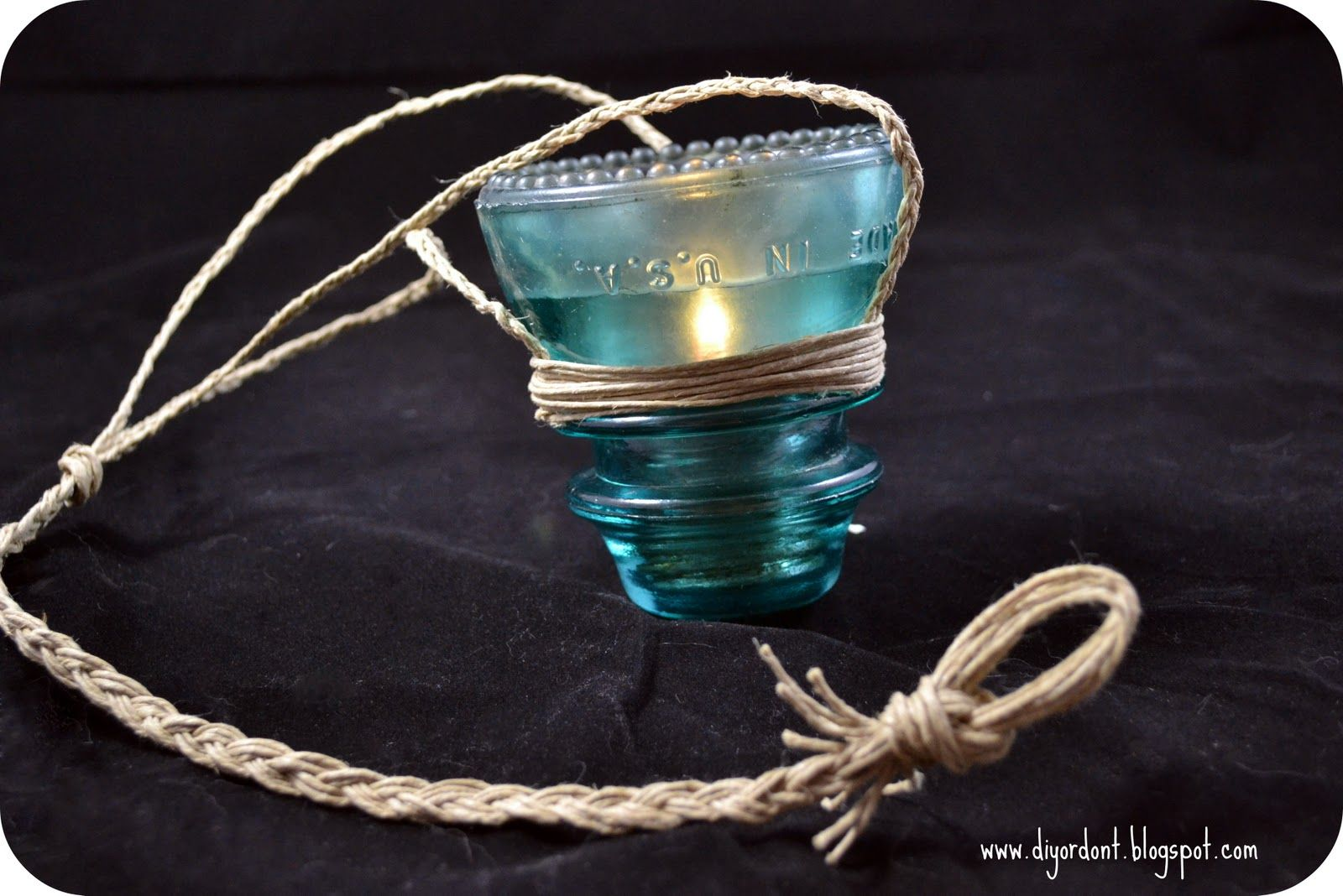 Glass insulator diy crafts pinterest for Glass insulator ideas