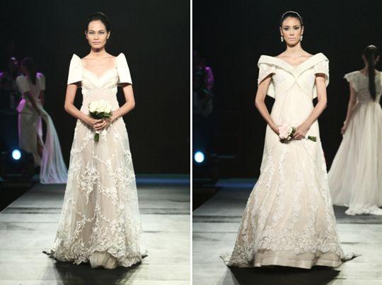 Filipiniana wedding gown weddings pinterest