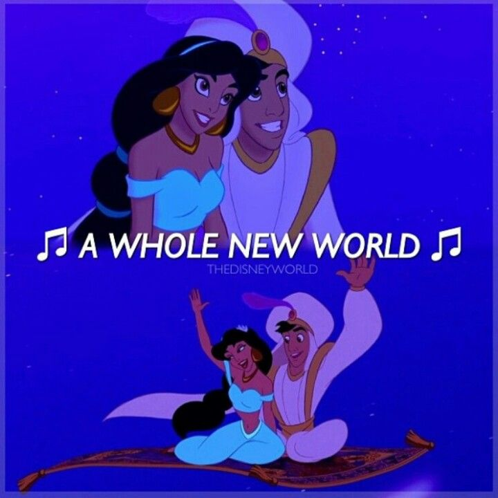aladdin whole new world