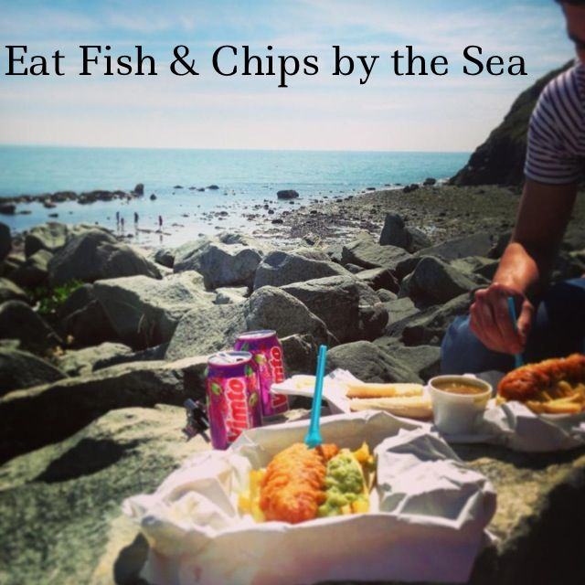 Eat fish chips by the sea check fish and chips for What do fish eat in the ocean