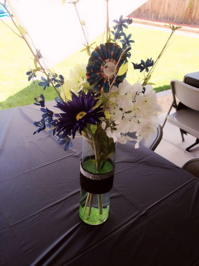 Graduation centerpiece table decoration party decor