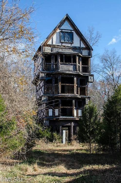 Real Haunted House Haunted Pinterest