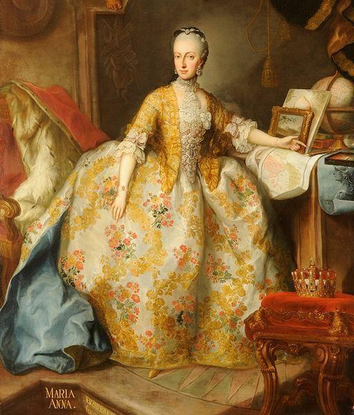 ロココ ドレス 絵画