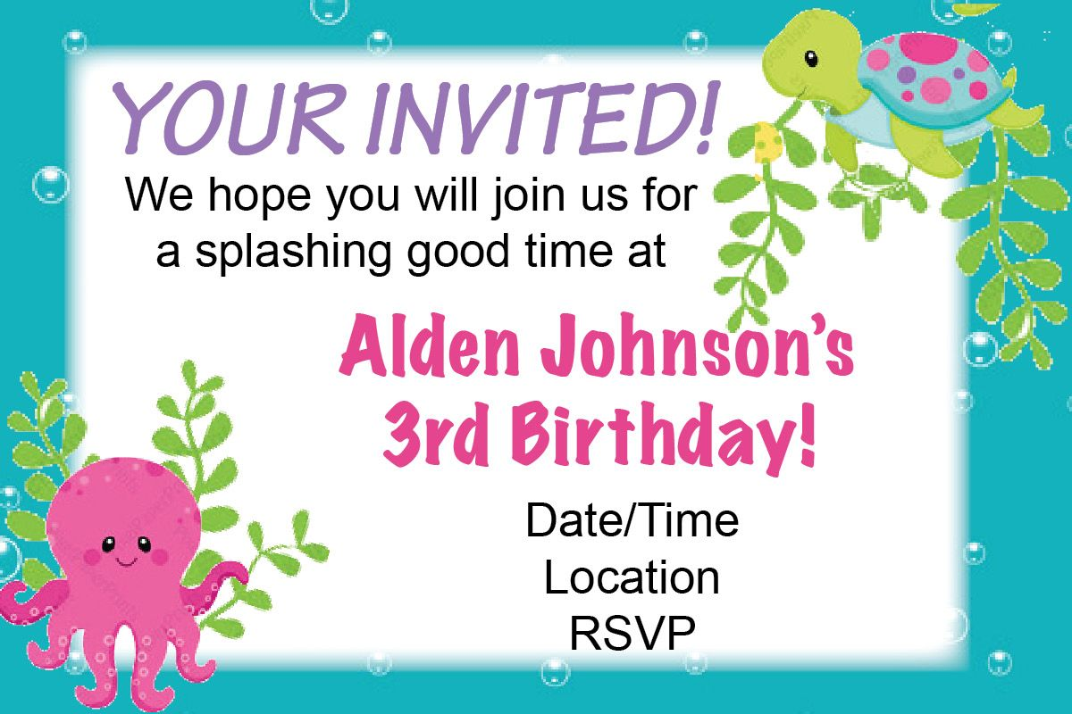 Sample Invitation For 1St Birthday as Perfect Ideas To Create Perfect Invitations Card