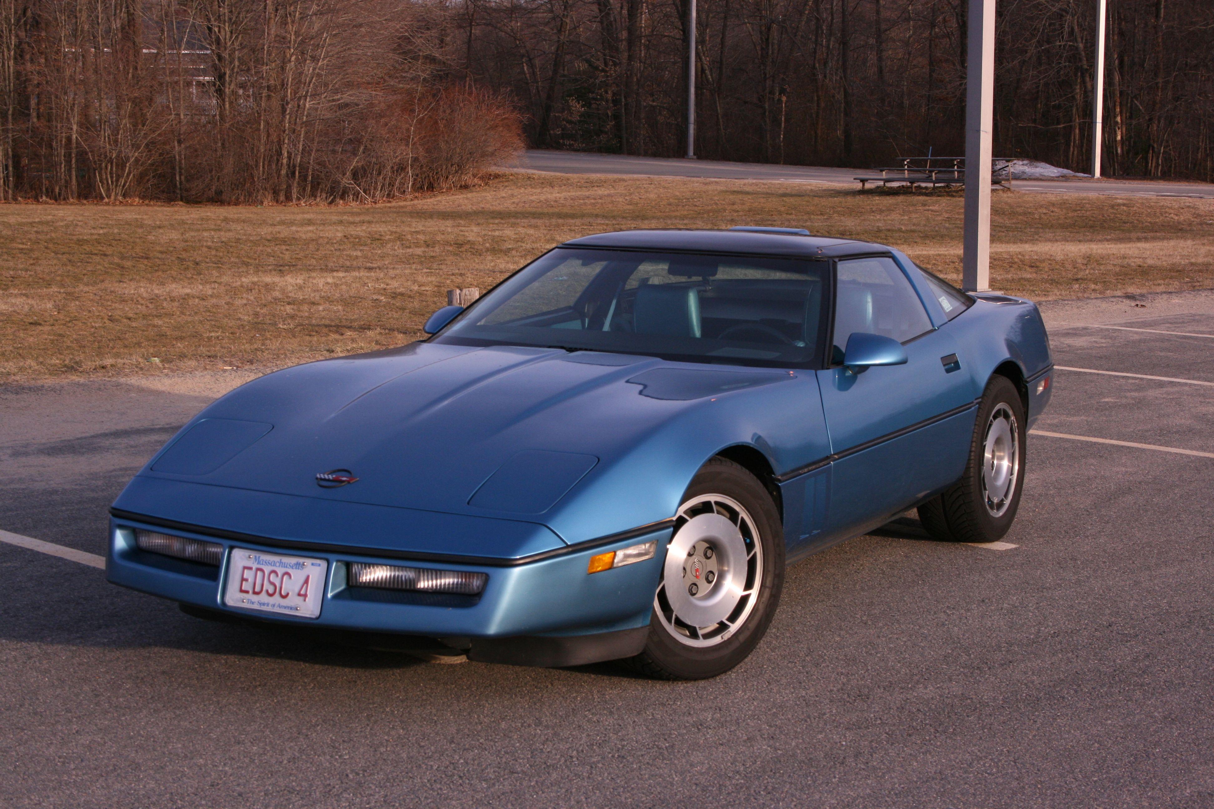 87 Corvette Corvettes Rock Pinterest