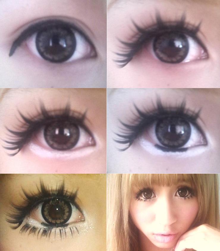 How To Apply Eye Makeup Big Round Eyes Cosmeticstutor