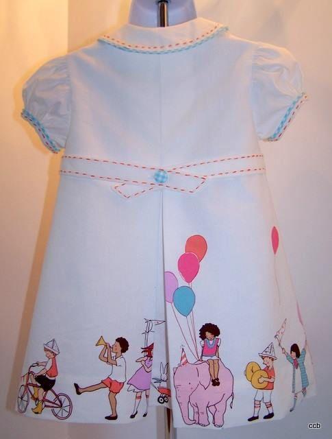 Children 39 s corner jenni leigh using children at play for Kids dress fabric