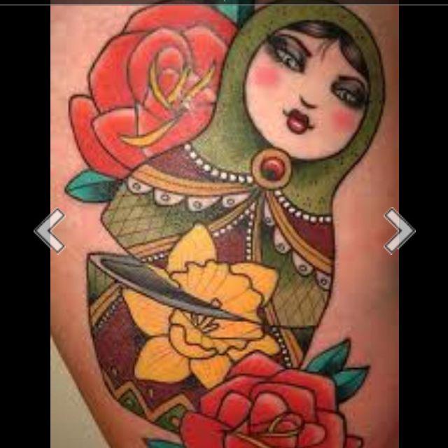 Russian Doll Tattoos