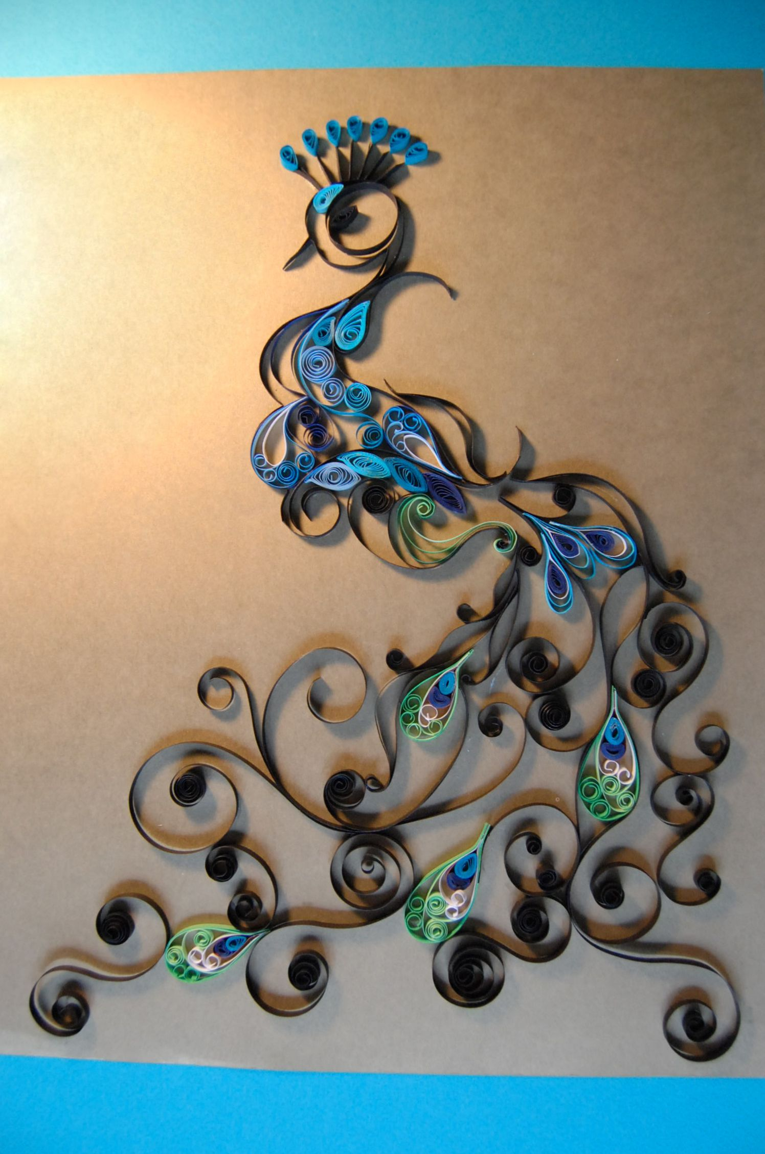 Quilling craft pinterest for Quilling designs