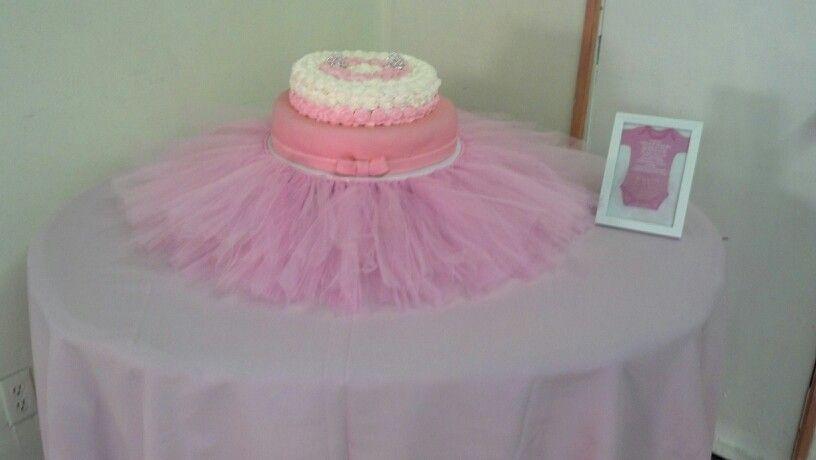 tutu baby shower cake by ruby ana 39 s shower pinterest