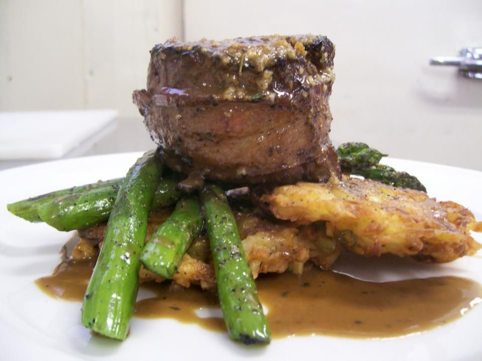 """!!!!!"""" Char-Grilled Bacon Wrapped 8 oz """"AAA"""" Beef Tenderloin, ..."""