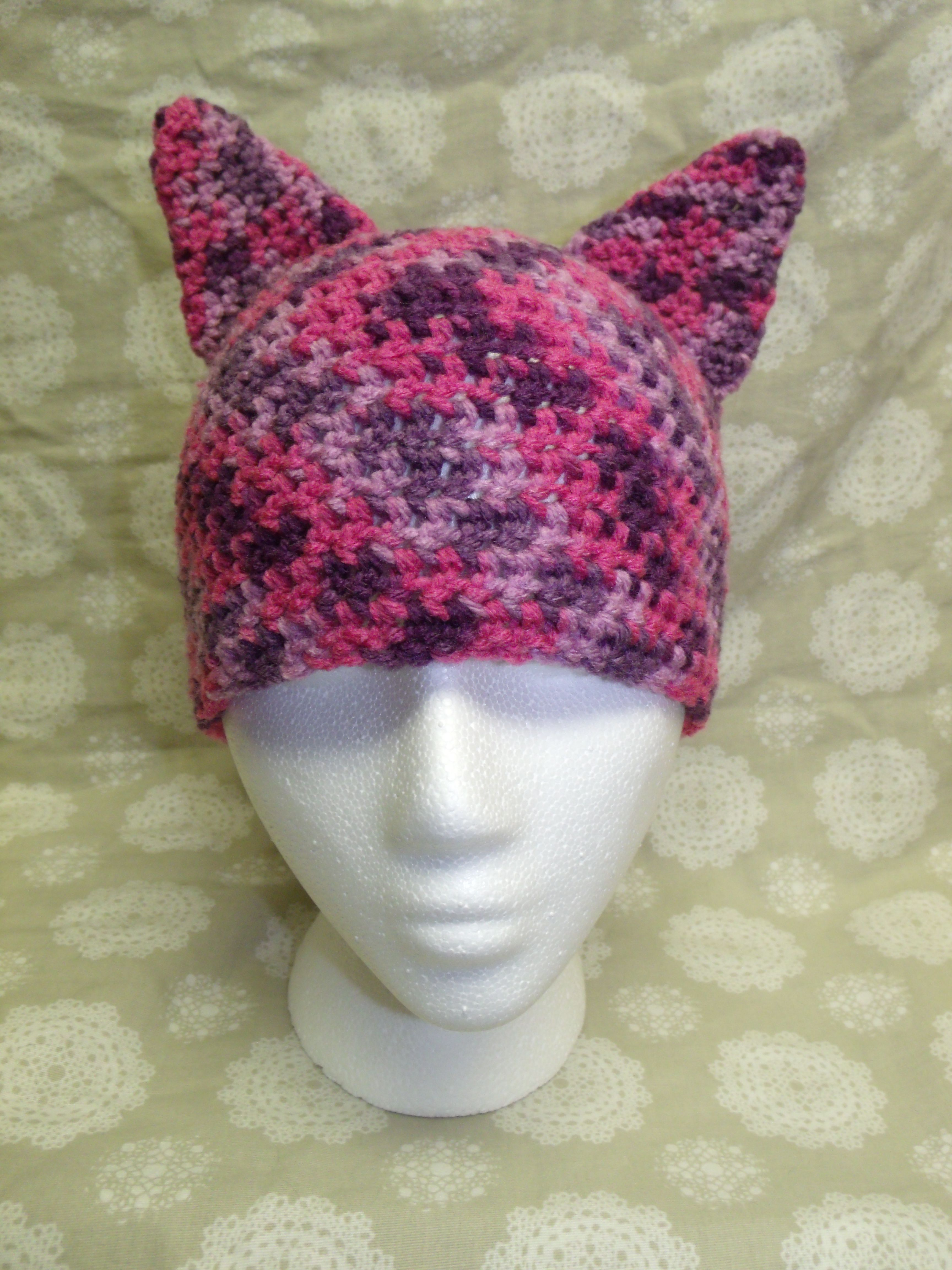 Crochet Cat Hat : Crochet Cat Hat Hats Pinterest