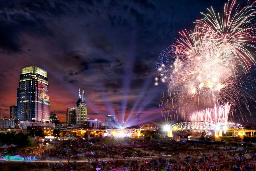 downtown nashville july 4th 2012