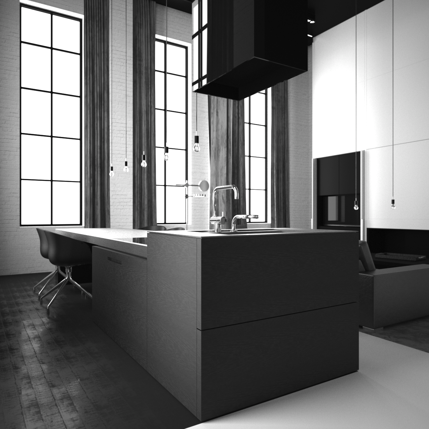 Keuken  Interior design  Pinterest