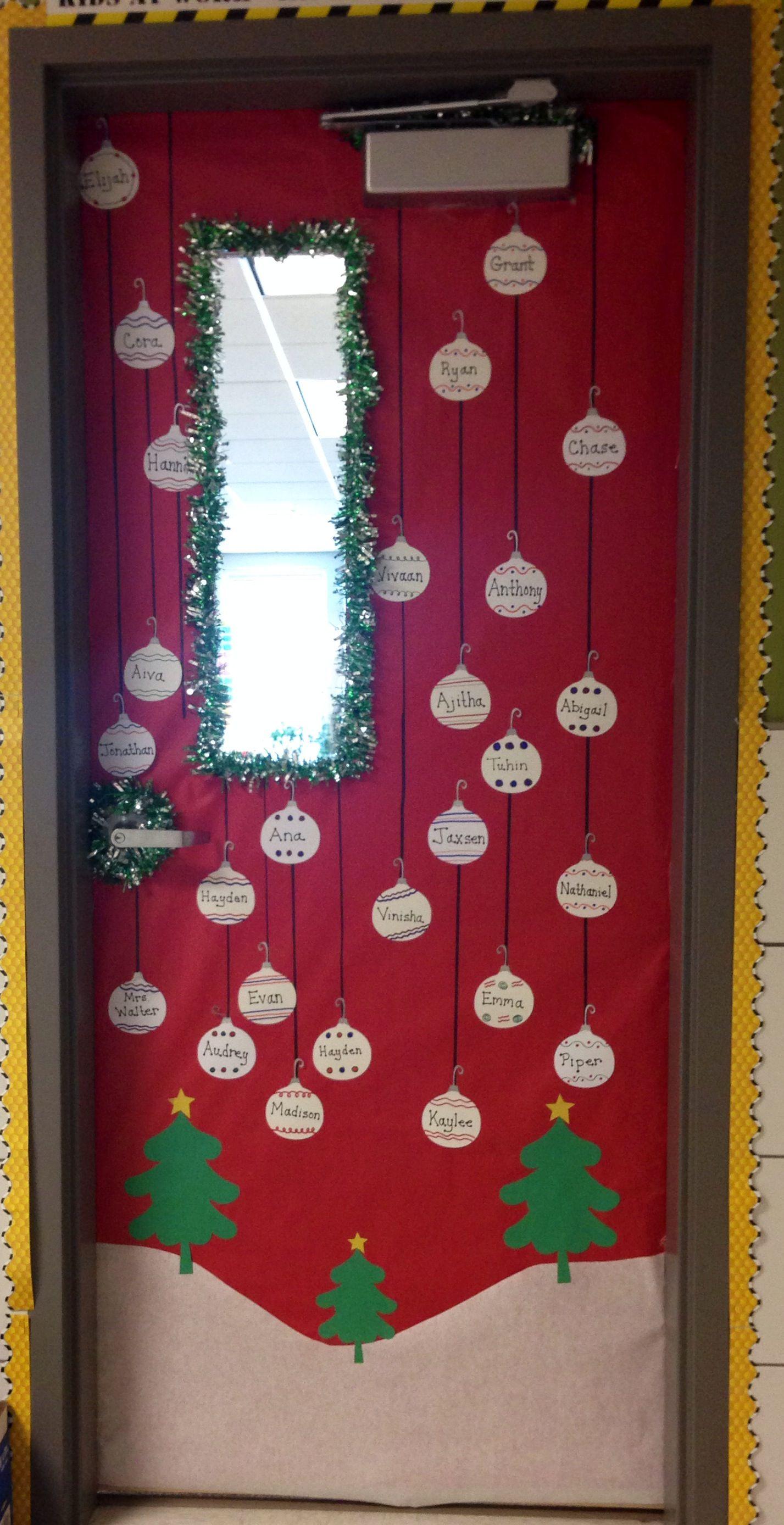 Winter Holiday Classroom Door Decorations : Classroom door decorations for winter