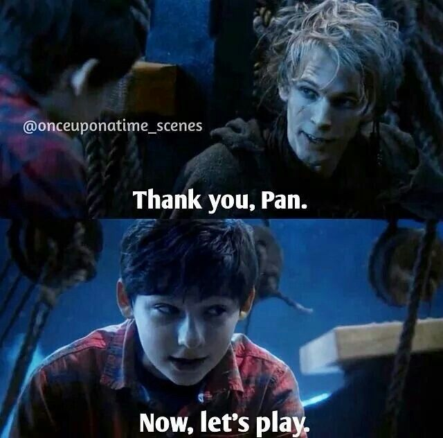 Peter Pan in Henry's body | Once Upon A Time | Pinterest