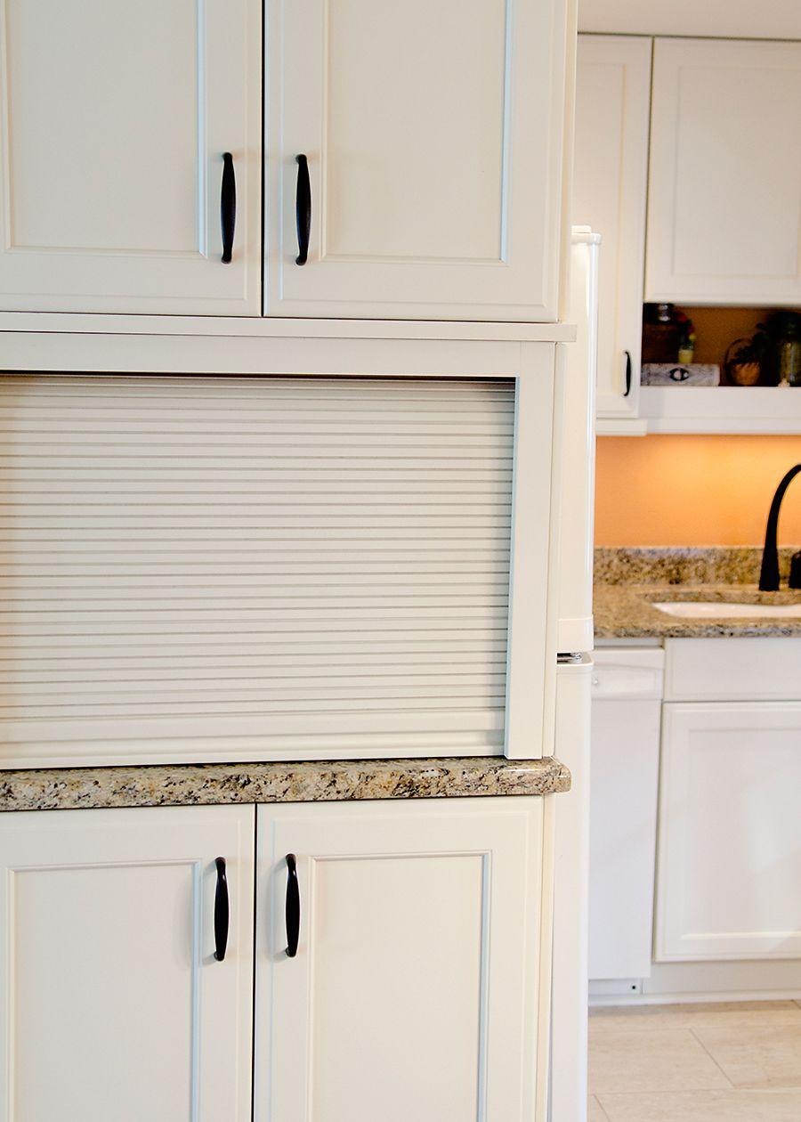 Appliance garage kitchens design by cella pinterest for Garage style kitchen window