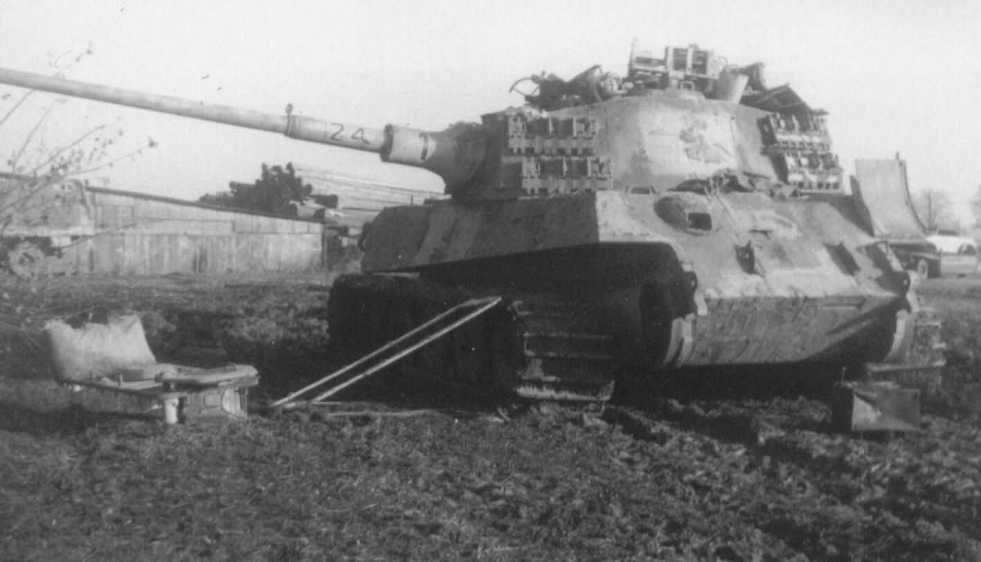 Tiger Ii Knocked Out Tanks Planes And Armament Pinterest