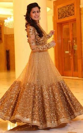 Latest kalidar suits in india