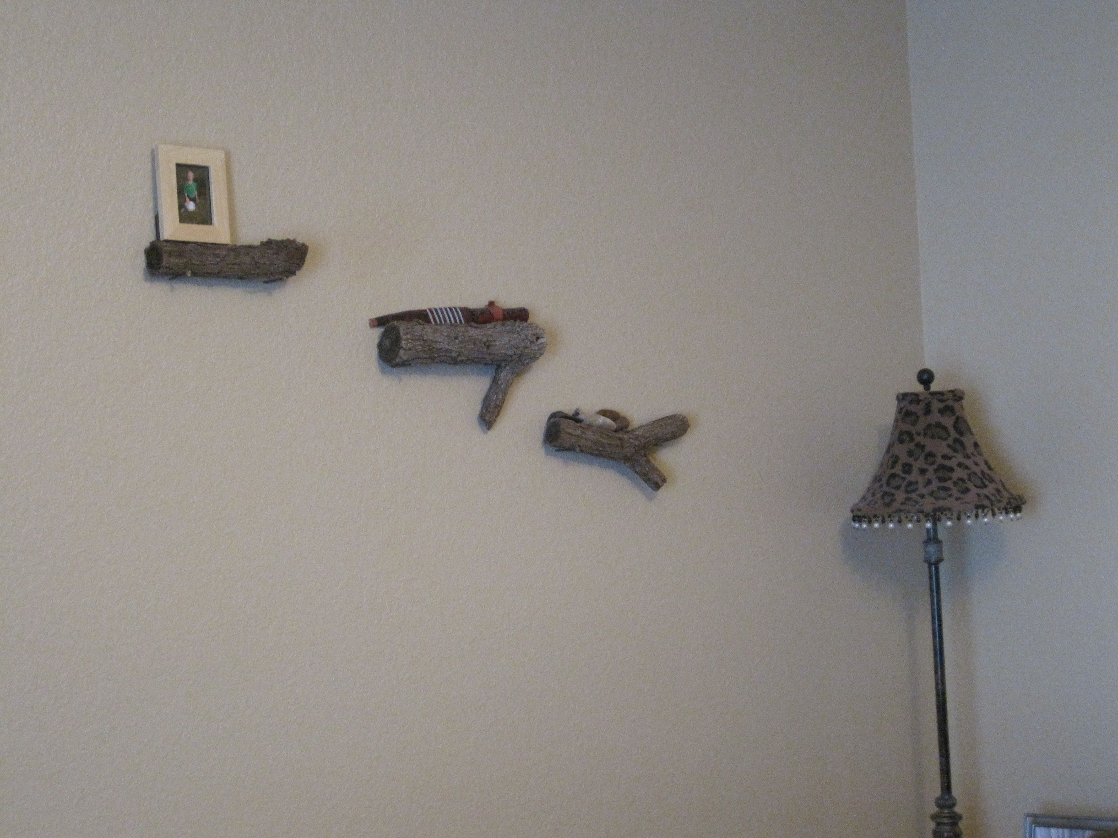 Superb img of small shelves made out of wood For the Home Pinterest with #495D82 color and 3648x2736 pixels