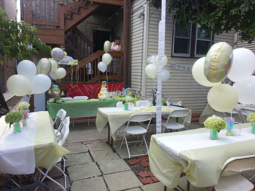 outdoor baby shower things i love pinterest