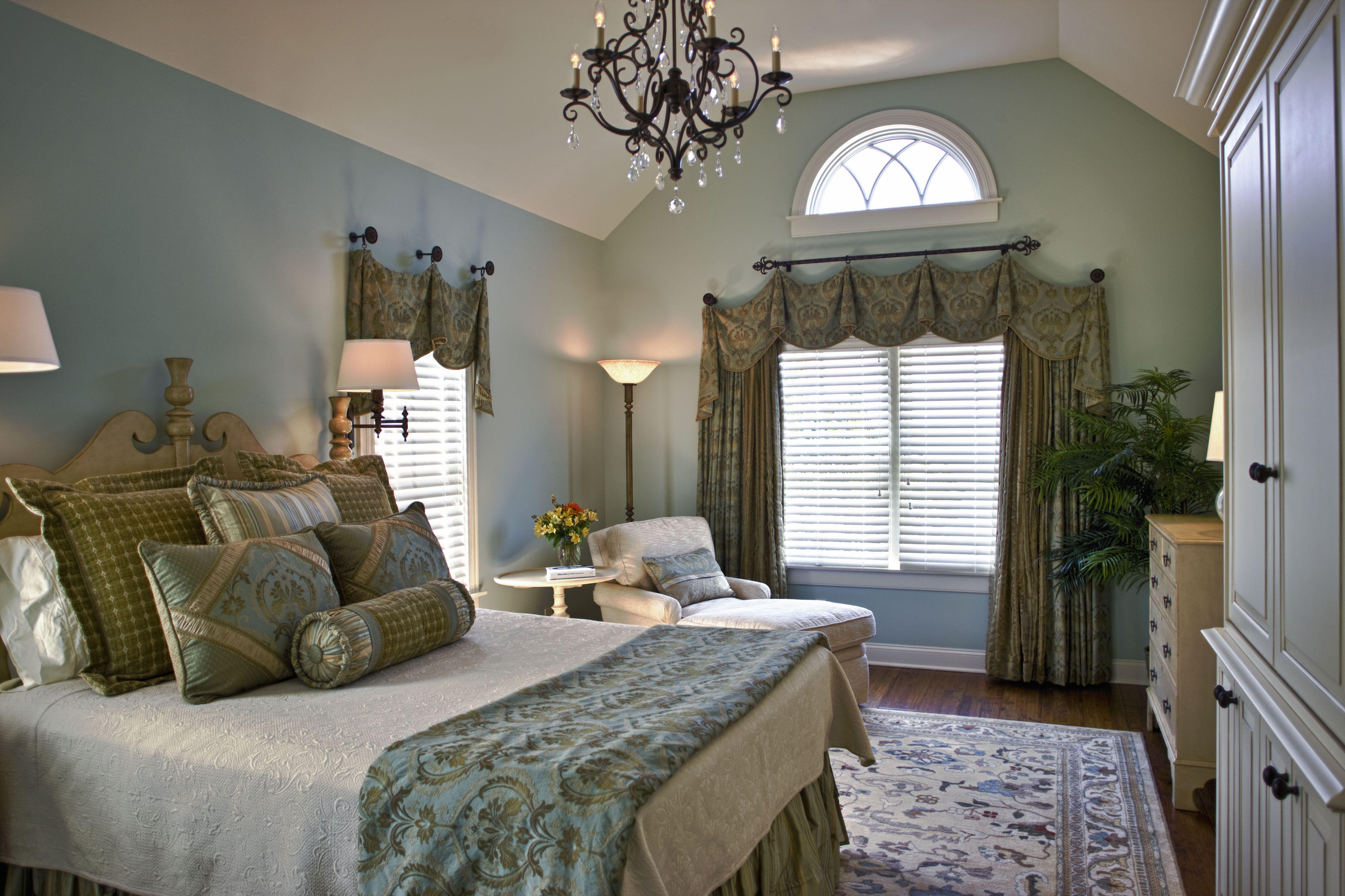 Custom Master Bedroom Window Treatment Custom Window Treatment Pi