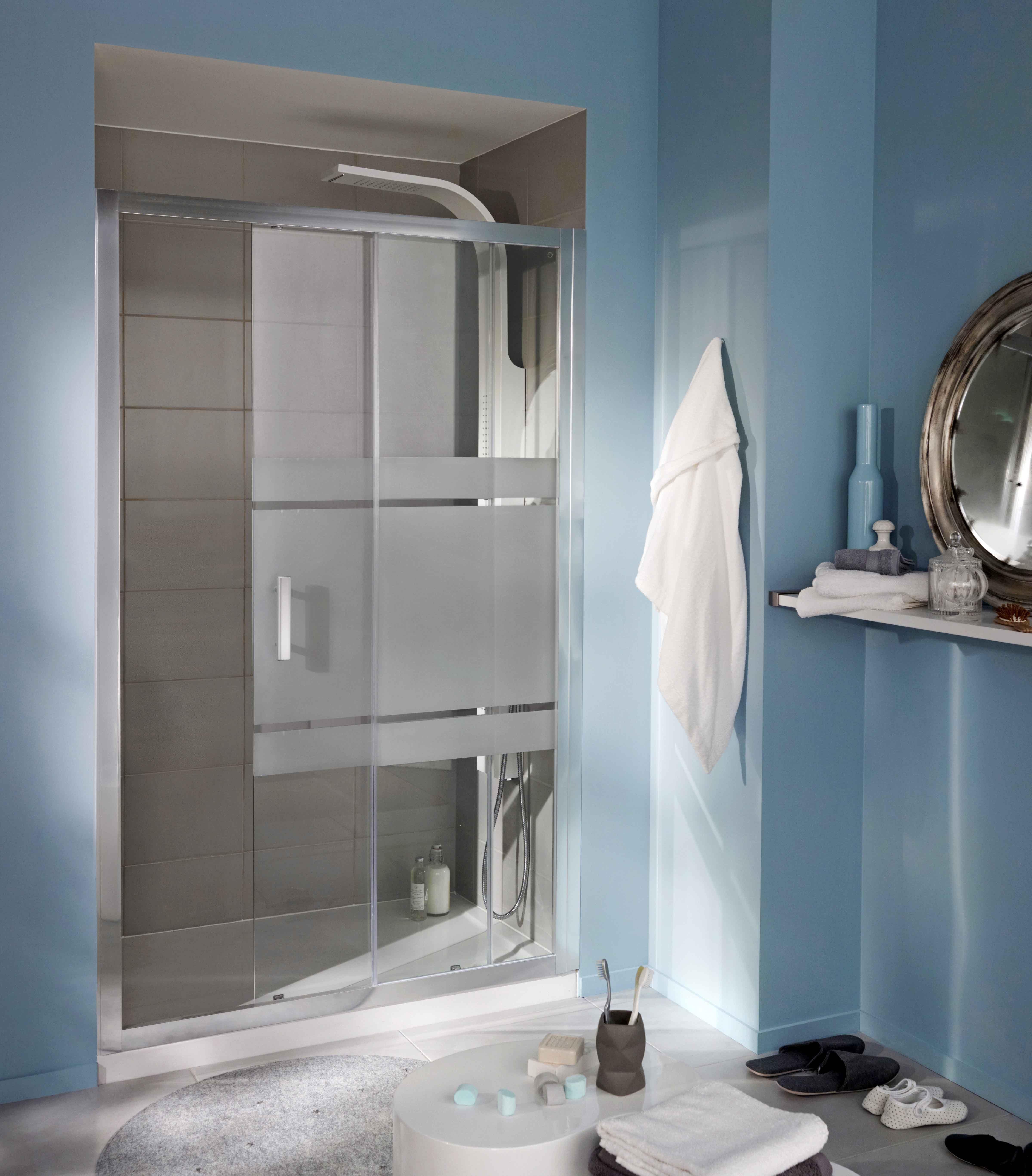 Pin by justine bernier on salle de bain pinterest - Porte coulissante salle de bain lapeyre ...