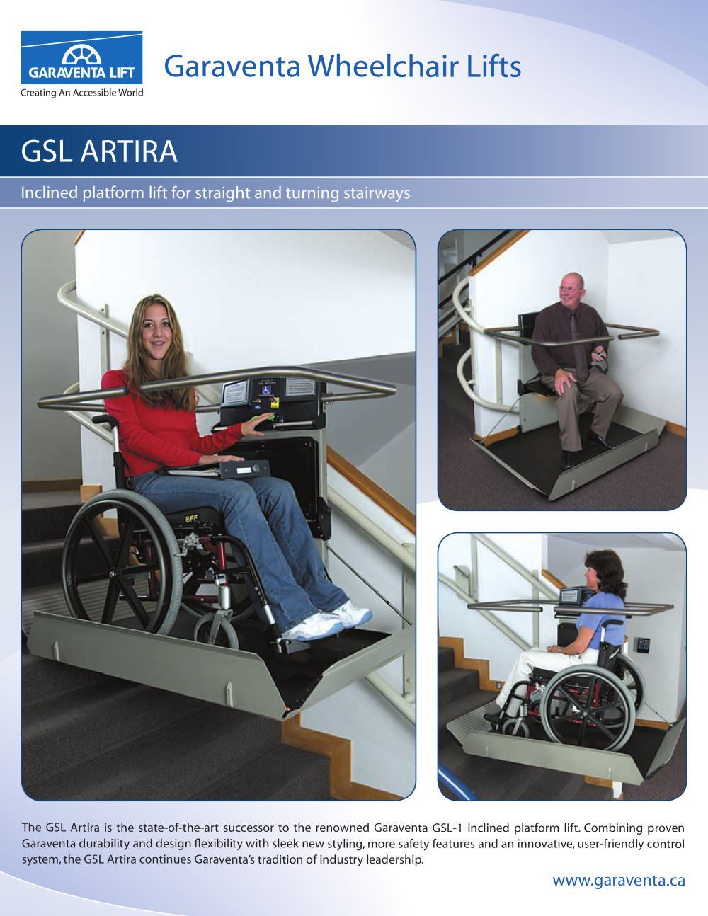 Garaventa wheelchair lifts gwinnett clean and beautiful for Garaventa lift