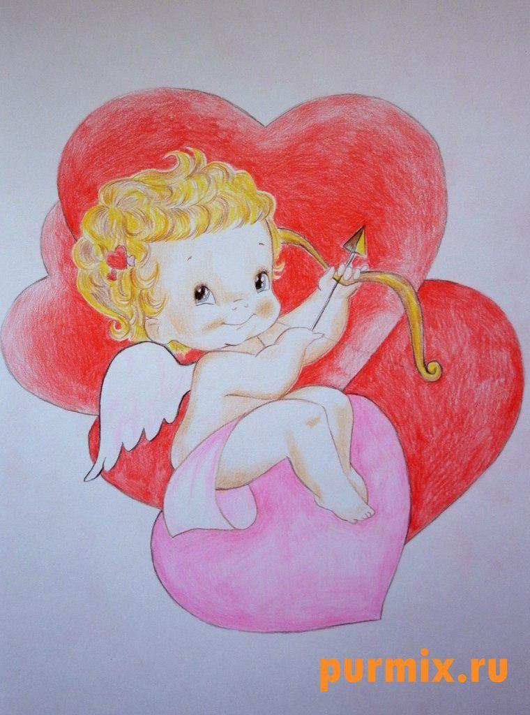 amor-engel-zum-valentinstag-zeichnen-dekoking-com   Zeichnen ...