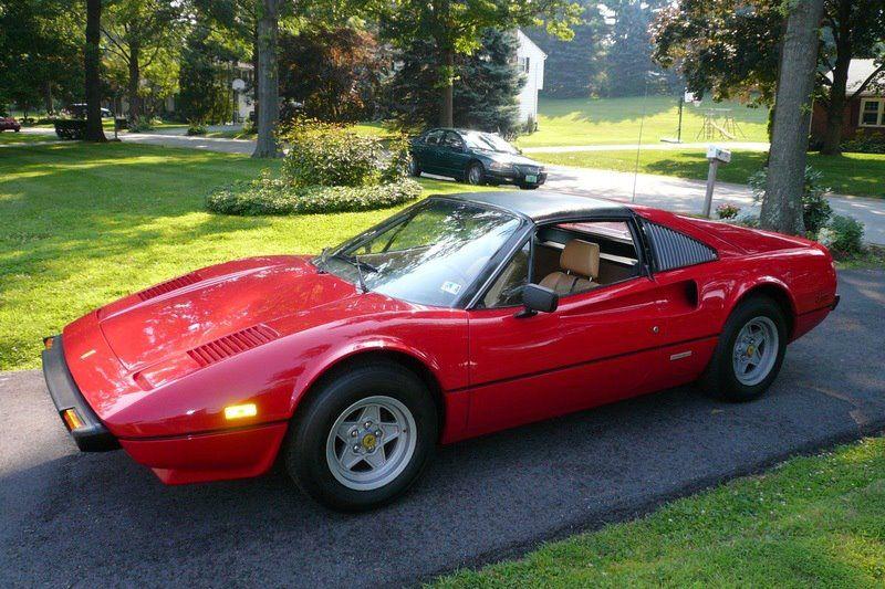 Magnum P I Ferrari 308 Gts Gasoline Alley Pinterest