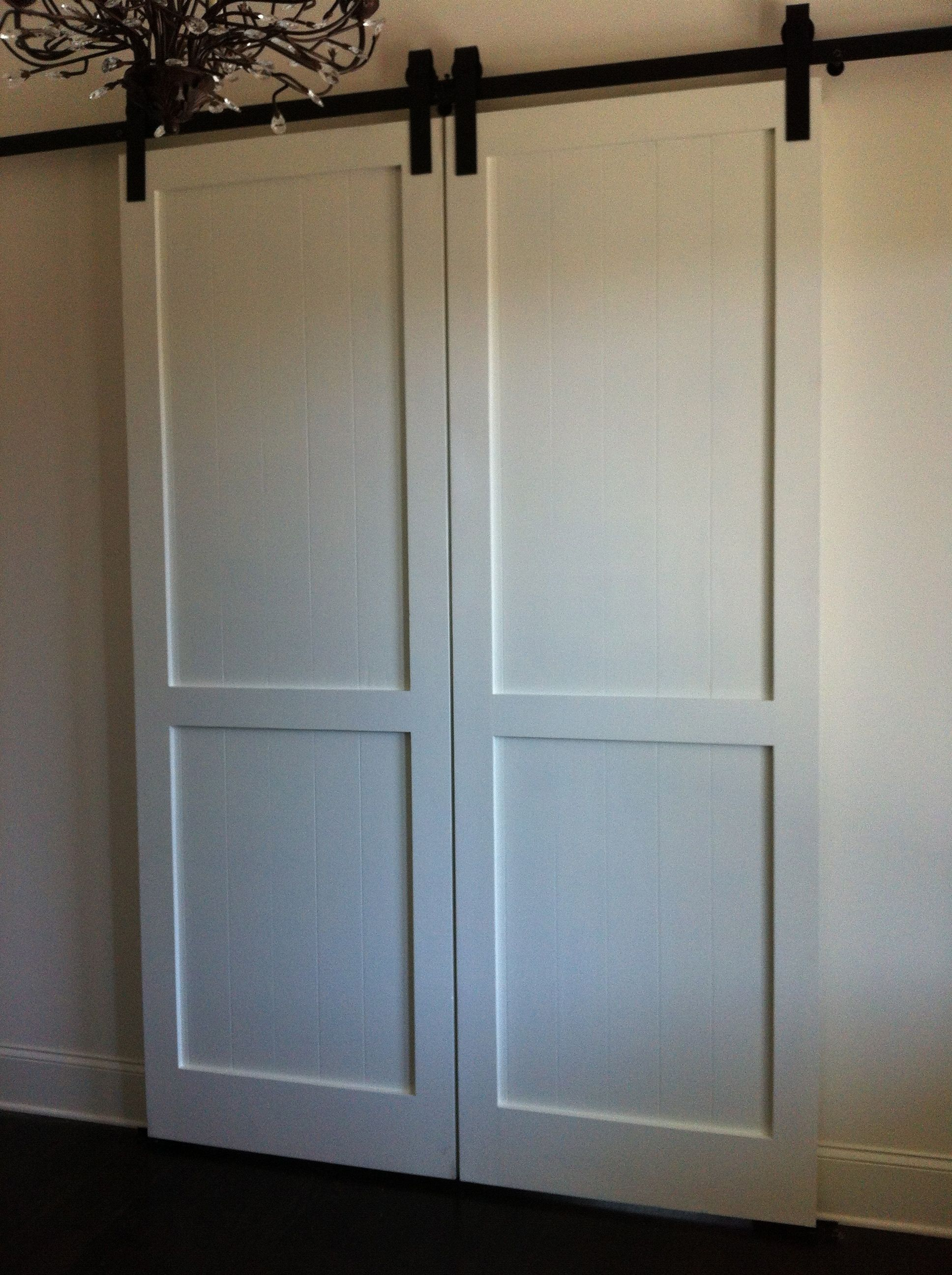 custom barn doors double doors nih pinterest