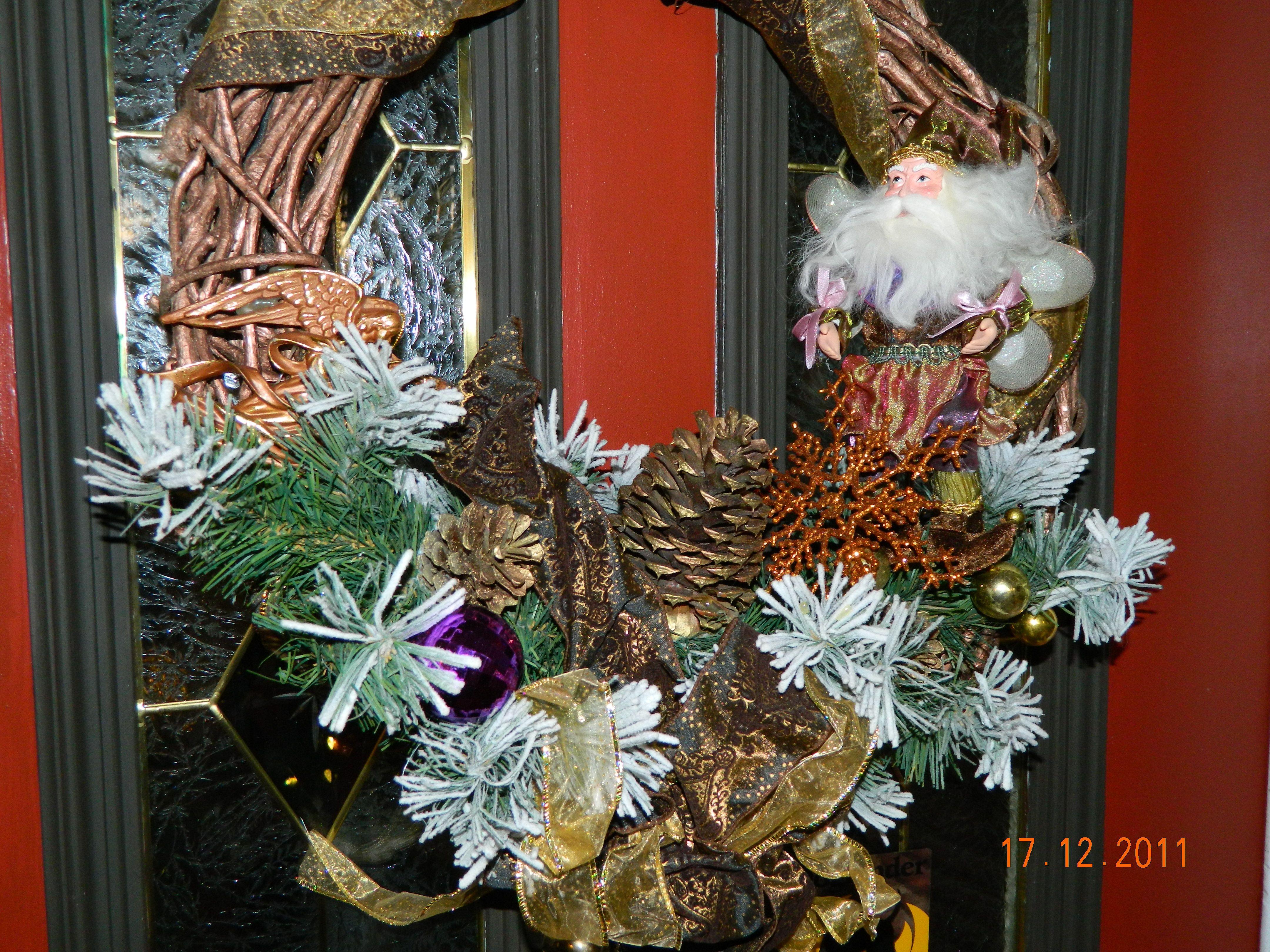 Christmas Wreath Christmas Decor Ideas Pinterest