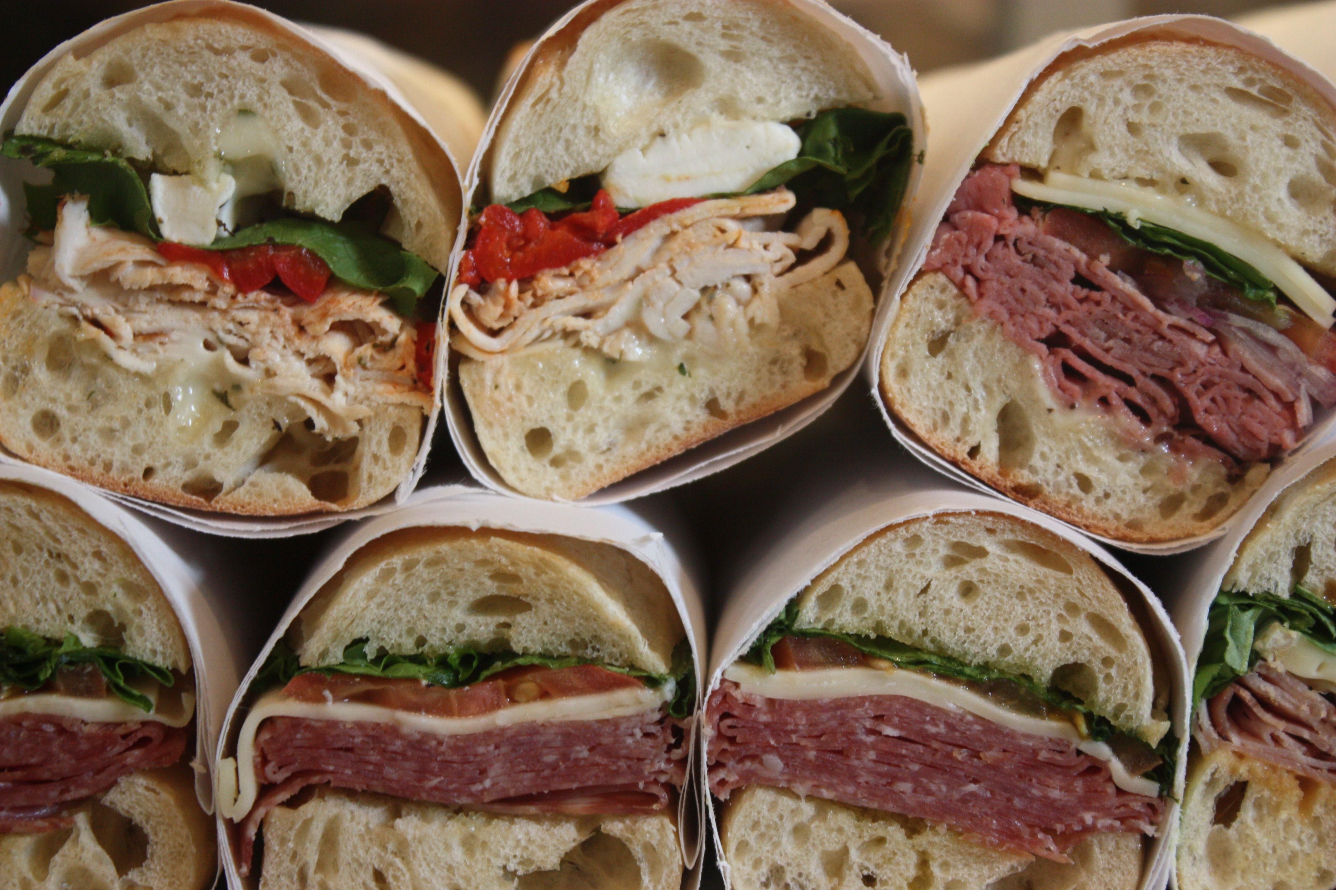 Mystic Market sandwiches to-go | Mystic Market | Pinterest